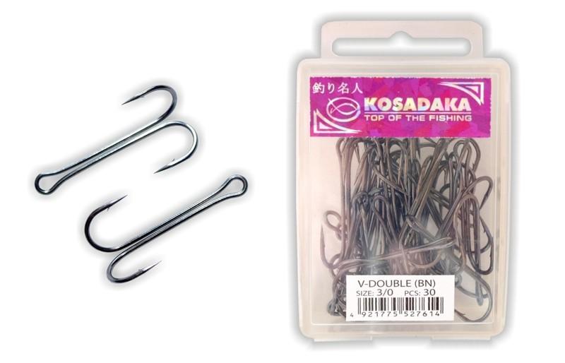 крючки двойные kosadaka
